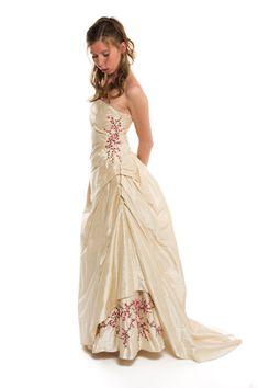 Cherry Blossom Wedding Dress Sakura Blossom Custom Made by AvailCo