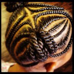 Beautiful braids and twists