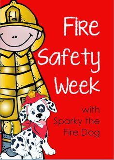 Perfect Interactive Workbook for Fire Safety Week! idea, grade 12, safeti week, fire safeti, dogs, fire safety, fire dog, printabl, kid
