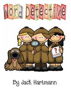 This is an Adorable book to accompany Jack Hartmann's song Word Detective from his Shake Rattle N Read cd.  Deanna Jump...