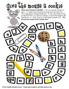 A great game to play in a If you give a mouse a cookie unit.