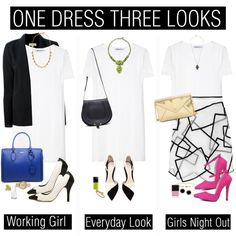 """ONE DRESS THREE WAYS"""