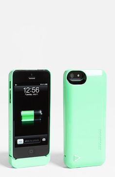 I love that there are finally cute colored battery cases