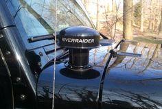 Jeep wrangler w/ river raider snorkel cowl