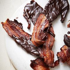 Chocolate Covered Bacon... yup!