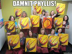 get it together Phyllis!