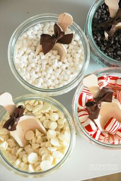 Hot Cocoa Bar. I'm having this at my wedding even if it's in the summer.