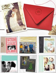 Holiday Cards from Smitten on Paper.