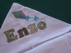 Toalha de banho Capuz ENZO by *Sonhos e Retalhos*, via Flickr