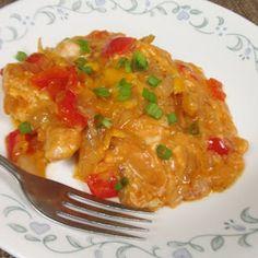 Cheesy Enchilada Chicken - 17 Day Diet - Day 11