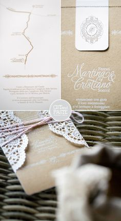CUTandPASTE: Project | White Suite | #01  #invitation #invitations #invites #invite #weddinginvitation