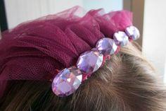 DIY Bachelorette Party Veil Crown