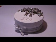 Tutorial: Decorazione di una scatola in avana con decori in metallo e perle