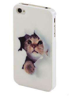 (good) Bad kitty.
