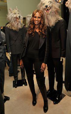 Iman attends the Prada 5th Avenue celebration of Fashion's Night