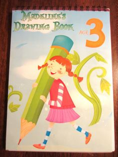 Personalized drawing book!