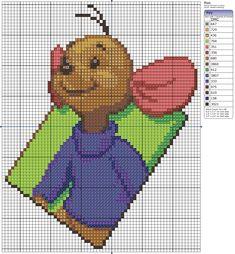 Roo - free cross stitch pattern