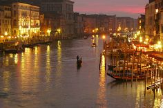 Venice Sunset by jonl1973, via Flickr