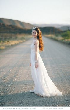 Romantic wedding gown | Designer: Robyn Roberts, Photo: Love made visible