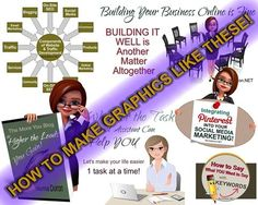 """Photo: 1st LESSON in the """"EXCLUSIVE Small Biz Builders GROUP is GRAPHICS!!!"""" YAY! Graphics totally ROCK your Social Media & ONLINE VISIBILITY. It's also a great way to spread your biz name online! :)  Group opening Sept 15 - check it out here:  http://normadoiron.net/exclusive-small-biz-builders-group/ This class is just an EXAMPLE of things to come in the new* group... (Y)"""