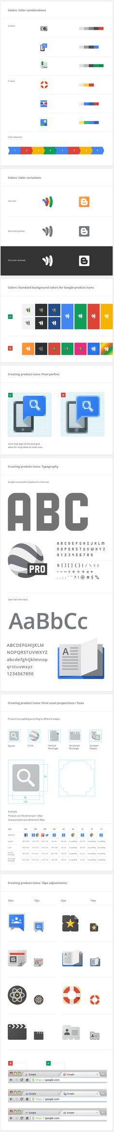 brand librari, icon, googl visual, brand guidelines, brand system, flat design, brand design, brandbook style, visual asset