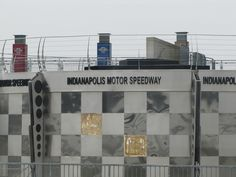Indianapolis Motor Speedway for Indy 500.