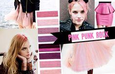 trend 2015, glam 2015 trend, ss15 trend punk, pink punk rock, pinki punk, summer trend, 2015 design trends, fashion vignett, ss 2015