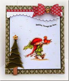 christma card, valley stamp, perfect tree, lotv christma