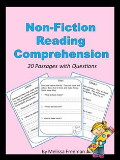 There are 20 non-fiction reading comprehension passages with simple questions for primary students in this package. It is best for students who have started to read independently. All the answers are directly in the passages. Students find the information and answer in short sentences. All the passages are about animals.