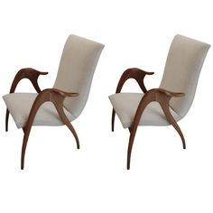 Pair of Armchairs by