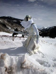 Snow Mandalorian (Star Wars) ~ Cos Play     by Hydra