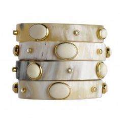 horn stacked bangles