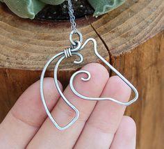 horse wire jewelry