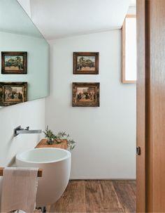 Apartamento Jardins III / Carolina Rocco #lavabo #restroom #bathroom