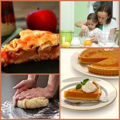 Enjoy the fragrance of seasonal baked favorites - Apple & Pumpkin Pie!