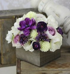 Rustic chic - love these!
