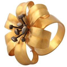 lili ring, rebecca koven, kovin lili, flower ideas, flower ring, rebecca kovin, lili flower