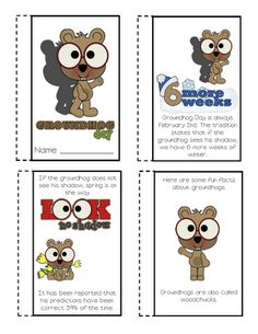 Groundhog Day Freebie from Lory's Page