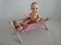 Vintage Keystone Dolly Bath For 8 Inch Baby Dolls