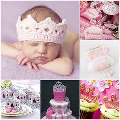 princess baby shower on pinterest princess baby showers. Black Bedroom Furniture Sets. Home Design Ideas