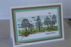 What a lovely card using our Lovely as a Tree stamp set. Thanks for sending in this great card Rachel Brown!