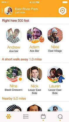 Make plans to go out with nearby friends instantly on Foursquare's new app Swarm.