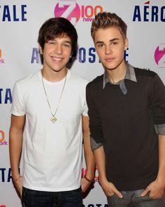 Austin Mahone & Justin Bieber