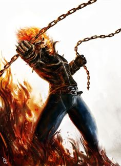 Ghost Rider by PierluigiAbbondanza.deviantart.com on @deviantART