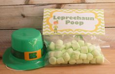 Leprechaun Poop with printable - Tales of a Ranting Ginger