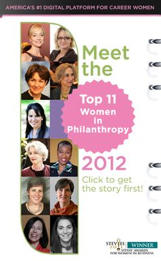 Top Women in Philanthropy