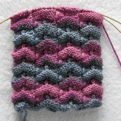 interesting stitch pattern