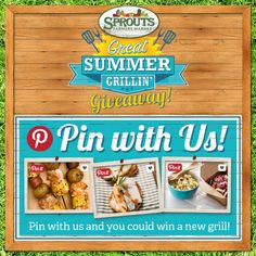 HOW TO ENTER to win 1 of 10 stainless steel grills courtesy of @spicehunter - Great Summer Grillin' - Sprouts Farmers Market - sprouts.com #GreatGrillin