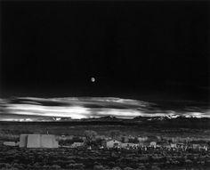 Ansel Adams: Moonrise, Hernandez, New Mexico, 1941