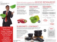 tips for dating tupperware parties Send out invitations for your tupperware party well in advance of the event make  sure  in addition, include your phone number or email address with a date to  rsvp  backyard party food ideas for 50 people how to host a euchre party.